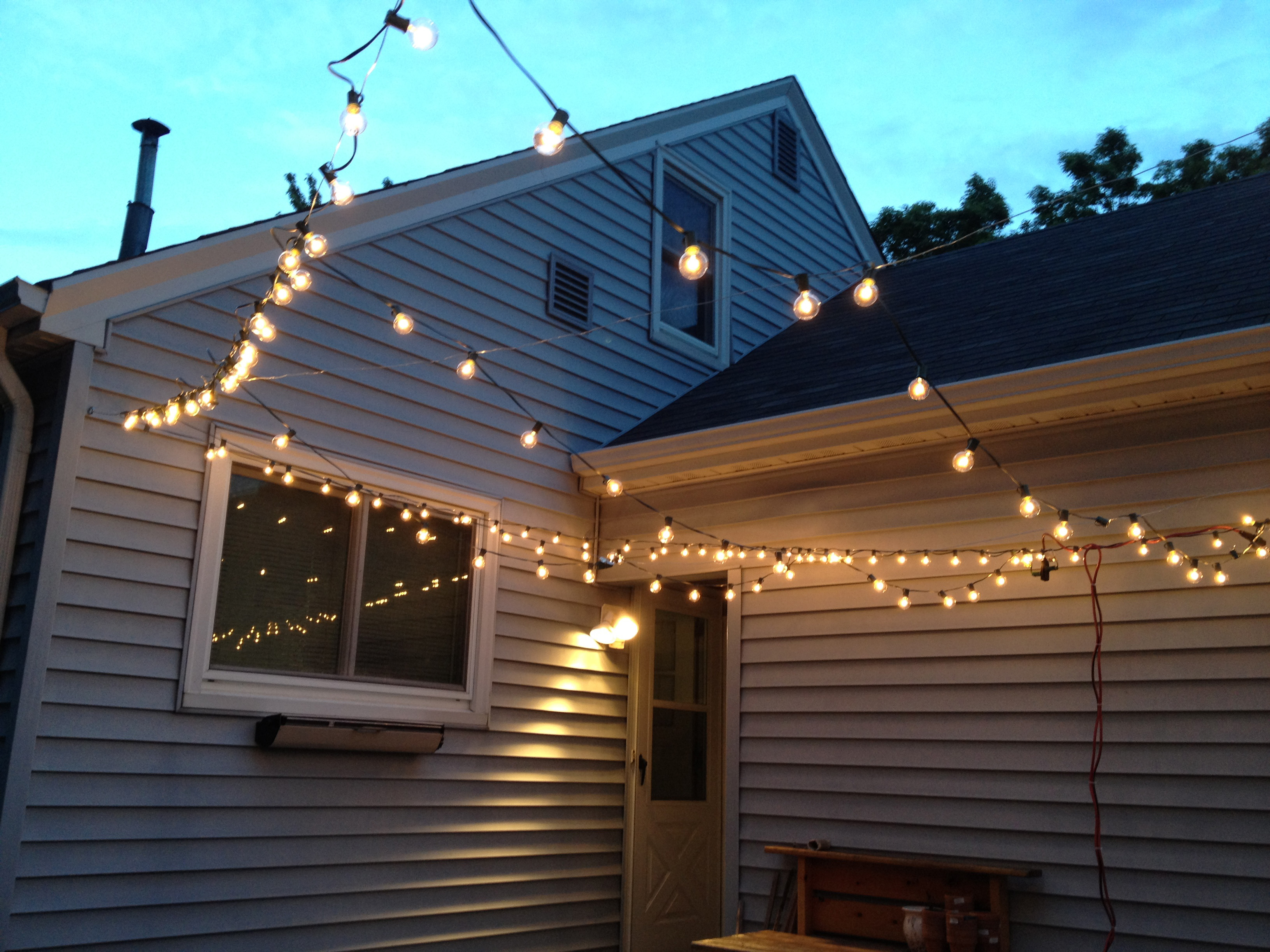 Simple Outdoor Patio Wall Lights