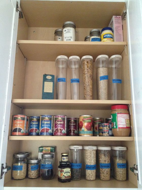clean cupboard